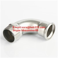 Stainless Steel Press-Fit Fitings Elbow with Male Thread