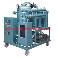 Waste Hydraulic Oil Cleaning Filter Machine