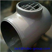 Stainless Steel Barred Tee Butt Welding Pipe Fitting ASTM A403/A403MWP 304N ASME B16.9 1/2*1/4 SCH5S