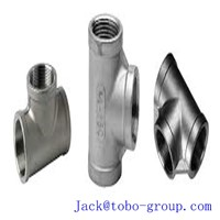 Socket-Welding Equal Tee Forged Stainless Steel Pipe Fitting STD 5'' ANSI B16.11ASTM A403/A403M WP316N