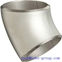 Butt-Welding Long Raidius 45 Degree Elbow Stainless Steel Pipe Fitting ASTM A403/A403M WP31726 12''SCH80 ASME B16.9