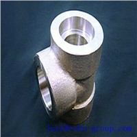 Stainless Steel Forged Socket Welding Tee ASTM A403/A403M WP316LN 8'' SCH10S ANSI B16.11
