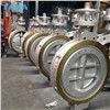 TANA Wafer Type Stainless Steel CF8 Triple Offset Butterfly Valve PN10