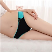 Yun Meng Ni Sexy Underwear Cute Bow G-String Breathable Cotton Panties Ladies Thongs