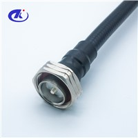 "Free Samples High Frequency 7/16 DIN Male to N Male 1/2"" Superflex Connectors Cable Assembly"