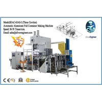 Aluminum Foil Container Making Machine SEAC-63