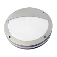 Outdoor LED Wall Light Aluminum Base PC Cover 5 Years Warranty