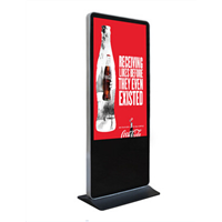 "32""~98"" TFT LCD Digital Signage Panel / Multimedia Advertising Player Display for Indoor Floor Standing HD Resolution"