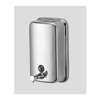 Liquid Soap Dispenser with 304 Stainless Steel, Wall Mount Soap Dispenser
