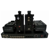 HDTV Camera EFP to Fiber Optic System for Datavideo Intercom & Remote SDI Tally Intercom Genlock PGM Ethernet