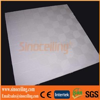 PVC Gypsum Ceiling Tile with Foil Back_PVC Gypsum Board