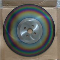 TIALN Coating Colorful M2 Steel HSS Circular Saw Blade