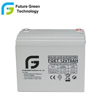 12V 70ah Deep Cycle Gel Battery VRLA Sealed Lead Acid Storage Battery