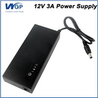 Rechargeable Power Source 30w 12V 3A Mini UPS Battery Backup Uninterruptible Power Supply for Small Computer