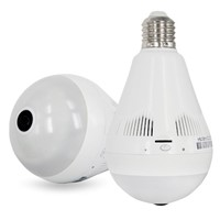 960P Panoramic Bulb WiFi Home Camera Wireless Smart IP Security Surveillance Zoom Monitoring System