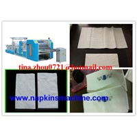 High Capacity Paper Napkin Folding Making Machine with SIEMENS MOTOR & PLC
