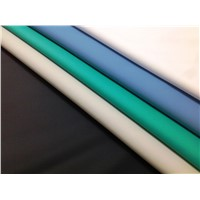 Waterproof Wipe Clean PU Coated Fabric for Medical Mattress, Aprons & Adult Bibs