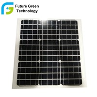 40W Poly Crystalline Silicon Cells Solar Panel