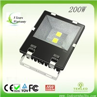 TEK IP65 200W Outdoor LED Flood Light for Stadium Tennis Court Lighting