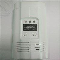 AC220V Powered Plug-in Carbon Monoxide Alarm Co Gas Detector