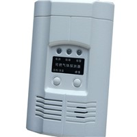AC220V Powered Combustible Gas Detector LPG LNG Gas Alarm Sensor for Gas Leaking Detection