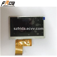 4.3 Inch TFT LCD Module /Screen/Display with CTP Driver IC