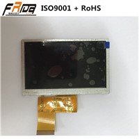 4.3 Inch TFT LCD Module /Screen/Display with RGB 24-Bit Interface &TFT Active Matrix Color Management