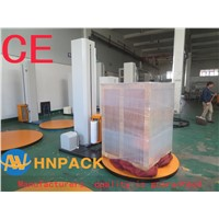 China Pallet Wrapper Power Stretch Manufacturer Sell CE Power Stretch Pallet Wrap Machine