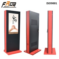 Outdoor TFT LCD DIGITAL SIGNAGE with High Brightness Customized for Multimedia Advertising Player Display Floor Standing