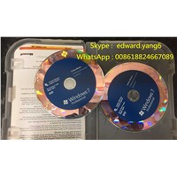 Win/Win 7 Professional Genuine /Original License Key Code Coa Sticker & DVD& Sealed Packing Box