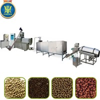 Extruded Aquatic Floating Fish Feed Making Machine