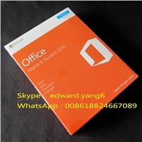 Office 2016 Home & Student PC Key Code Key Card Retail Sealed Packing Box