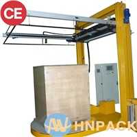 China Pallet Wrapper Manufacturer Supply Automatic Pallet Wrapper with Top Sheet Dispenser Supplier