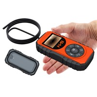 5.5mm Stainless Steel 90 Degree Rigid Borescope Inspection Camera with Detachable Camera Probe