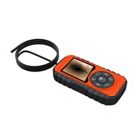 New Product: 3'' TFT HD Video Borescope with 1m Camera Probe Coiled Inside the Case for Storage