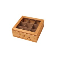 China Pinsidea Bamboo Tea Storage Box
