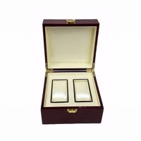 China Pinsidea Couple Wooden Watch Box