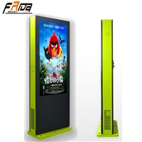 "Outdoor TFT LCD DIGITAL SIGNAGE 55 "" Advertising Player Display HD 1080P /Brightness Control Automatically"