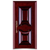 Steel Security Door with Nice Color & Less Defect