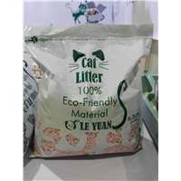 Biodegradable Hygienic Peach Scent Tofu Cat Litter