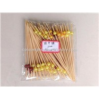 12cm Fantastic Party Frilled Crystal Toothpicks Cocktail Sticks Bamboo Skewers Pick