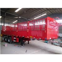 3 Axle 40T Fence Cargo Semi Trailer with Competitive Price