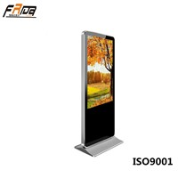 65 Inch TFT LCD Digital Signage Display & Multimedia Advertising Screen Indoor Floor Standing
