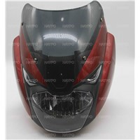 Motorcycle Payts for Head Cover with Glass