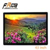 "Wall Mounted HD 43"" LCD Digital Signage/Indoor LCD Screen Advertising Panel/ Player"