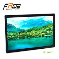 LCD Display Screen 98 Inch &Digital Signage Indoor Wall-Mount