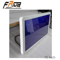 Indoor Wall Mounted Digital Signage Display with 70 Inch HD LCD Screen / Player