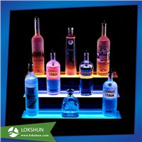 Professional Acrylic LED Illuminated Wine Display China Acrylic Wine Display Manufacturer