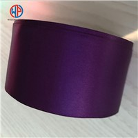Festival Craft Double Face 3 Inch Polyester or Silk Material Satin Ribbon