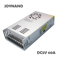 JoyNano 300W Switching Power Supply 5V 60A AC-DC Converter Transformer